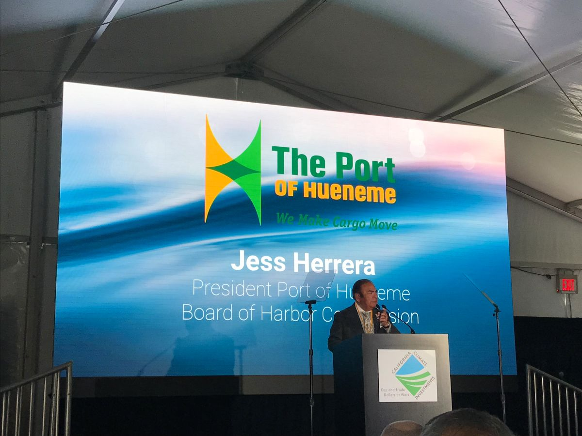 President of the Board of Harbor Commissioners Jess Herrera