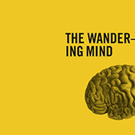 Cover detail, The Wandering Mind, Michael C Corballis