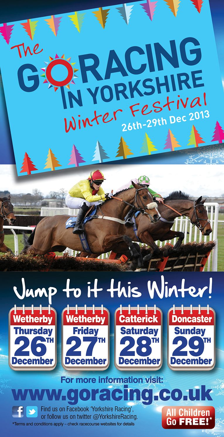 Go Racing in Yorkshire Winter Festival Image