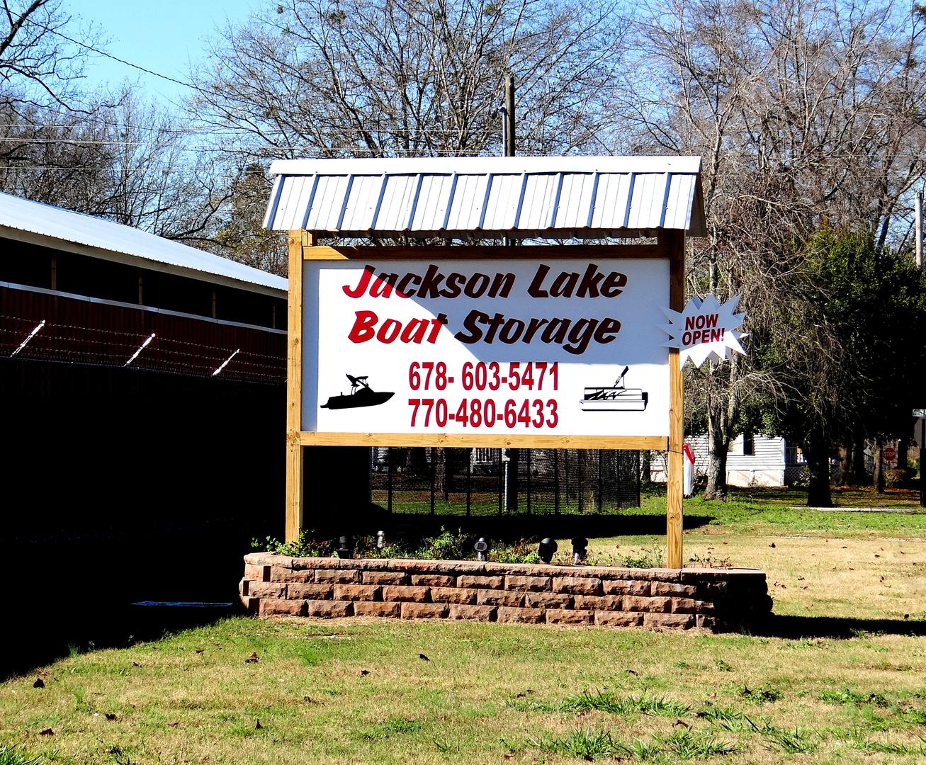Jackson Lake Boat Storage