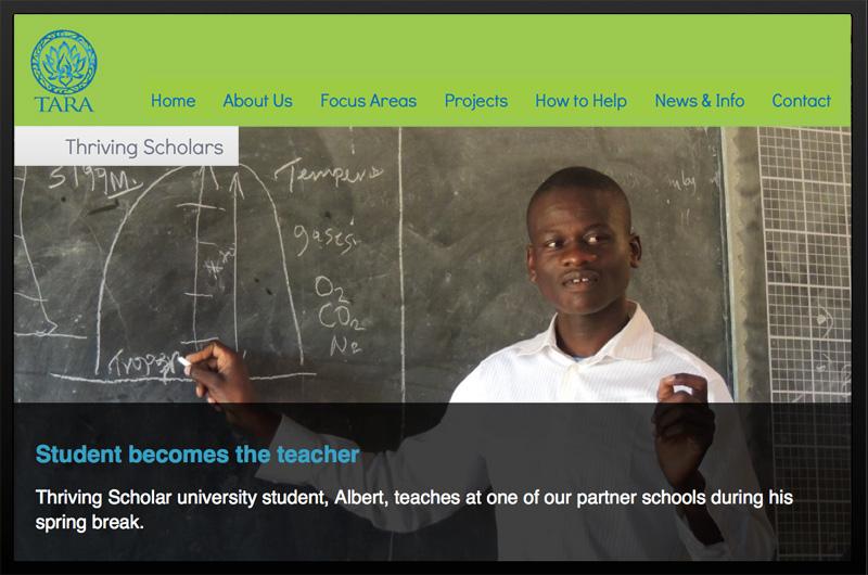 Link zu Thriving Scholars - TARA Website