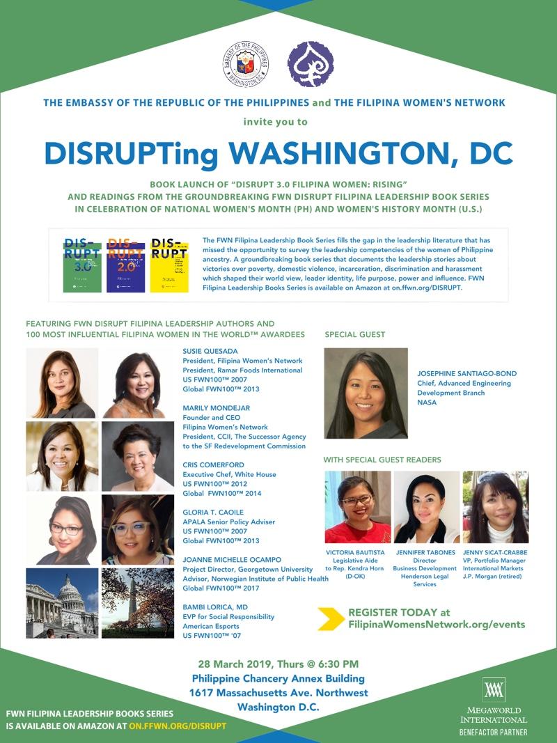 DISRUPTing Washington, DC