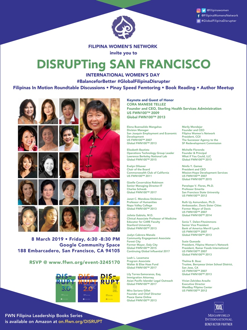 DISRUPTING SAN FRANCISCO (INTERNATIONAL WOMEN'S DAY)