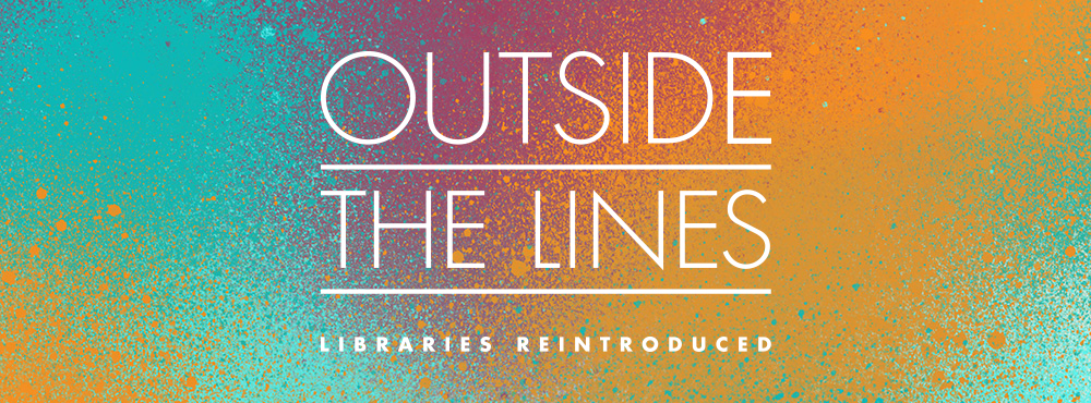 Logo for Libraries Outside the Lines an initiative to reintroduce libraries to their communities