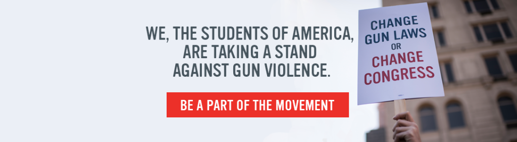 Image: We, The Students of America, Are Taking a Stand Against Gun Violence. Be a Part Of The Movement.