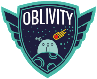 Oblivity podcast logo