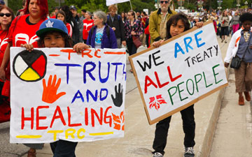 ive Years into Canada's Truth and Reconciliation calls to action on terms of relations between Indigenous Peoples and Settlers, Where are we now? Where are we heading?