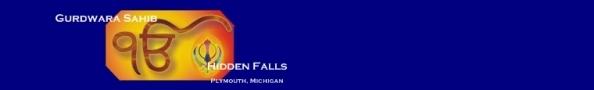 Gurdwara Sahib - Hidden Falls