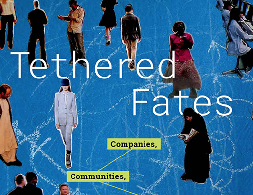 A portion of the Tethered Fates book cover