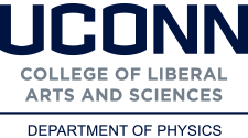 UConn Physics wordmark