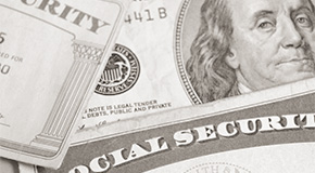Image of anonymous Social Security card.