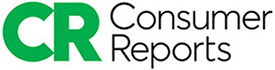 Green and black Consumer Reports logo