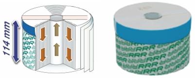 Mikrofiltarski elementi M100, ß2>200, sposobnost apsorbcije                 mehaničkog onečišćenja, vode i polimerne sluzi
