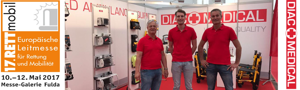 DIAC MEDICAL team at RETTMobil at Fulda 2017