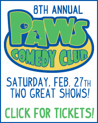8th Annual PAWS Comedy Club