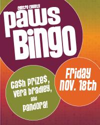 PAWS Bingo