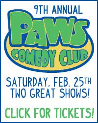 PAWS Comedy Club - Feb 25