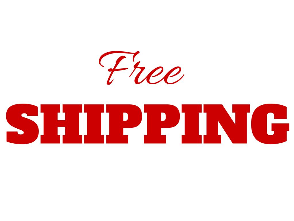 FREE SHIPPING THRU 5-31-19