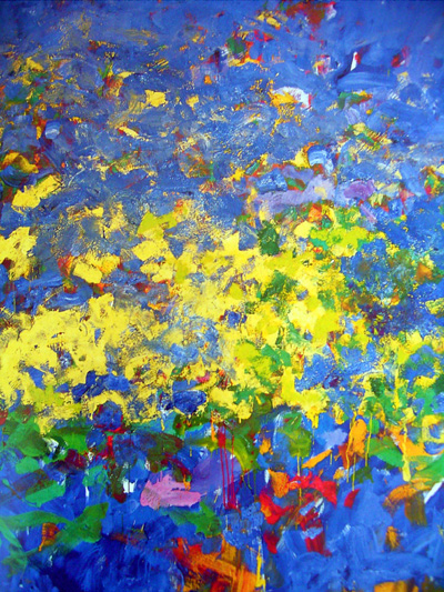 Joan Mitchell painting