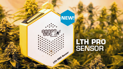 The new LTH PRO environmental sensor from SmartBee