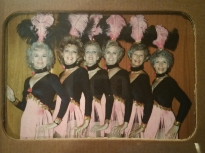 Mom is second from the left