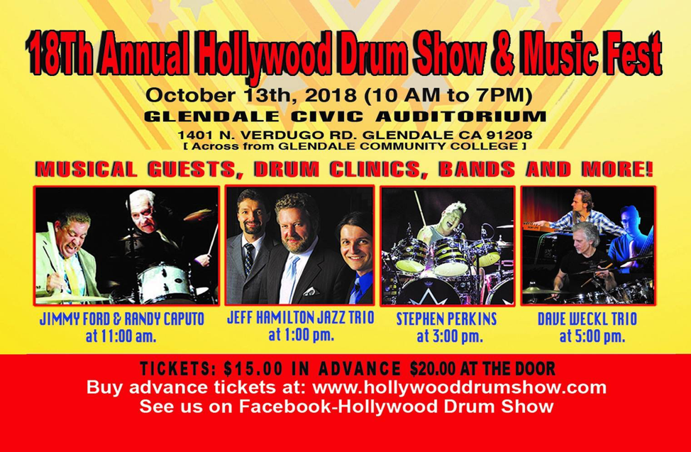 2018 Hollywood Drum Show