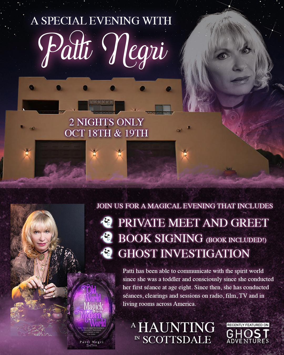 A Haunting in Scottsdale flyer