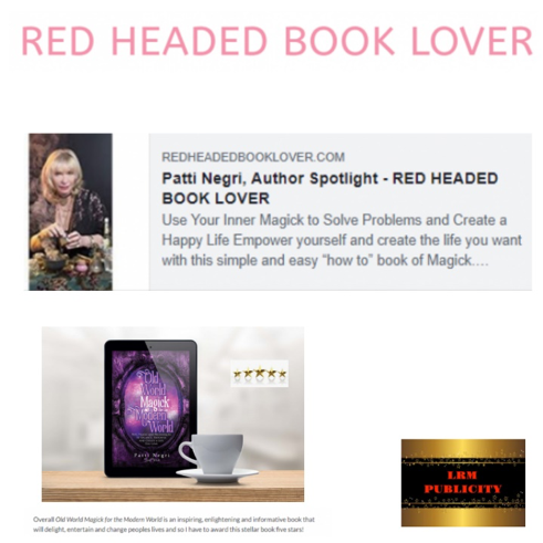 Red Headed Book Lover review of Patti's new book.