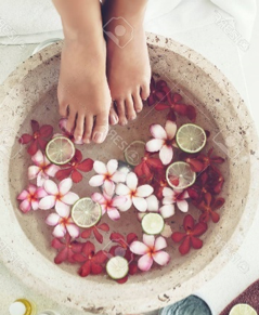 Foot bath can be used as bathroom magick