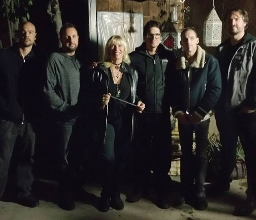 More photos of Patti with the Ghost Adventures crew