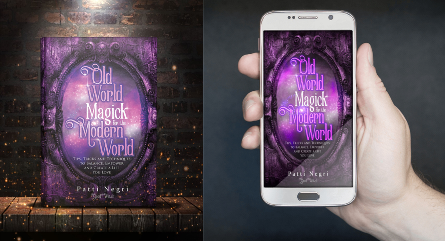 Photos of Patti Negri's Book, Old World Magick for the Modern World