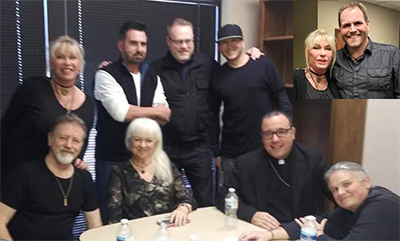 Patti with the Ghost Adventures Crew.
