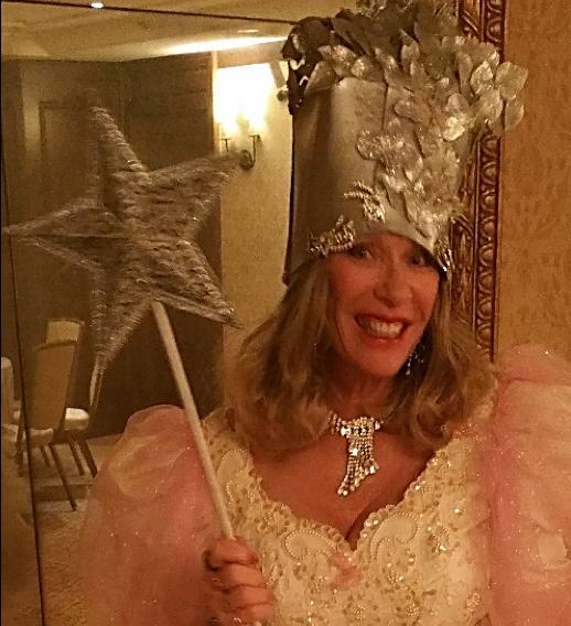 Patti as Glenda the Good Witch