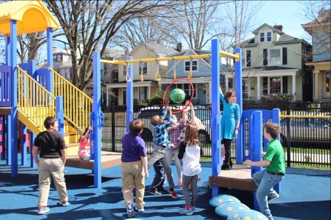 Team 3 on the Playground