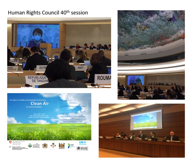 UN Human Rights Council Special Rapporteur Environments and Human Rights