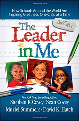 Book cover: The Leader in Me