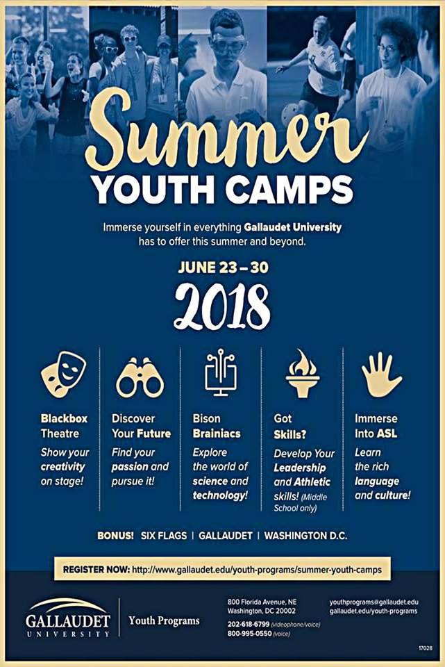gallaudet summer camp