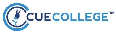 Cue College logo