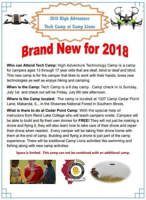 Lions Tech Camp