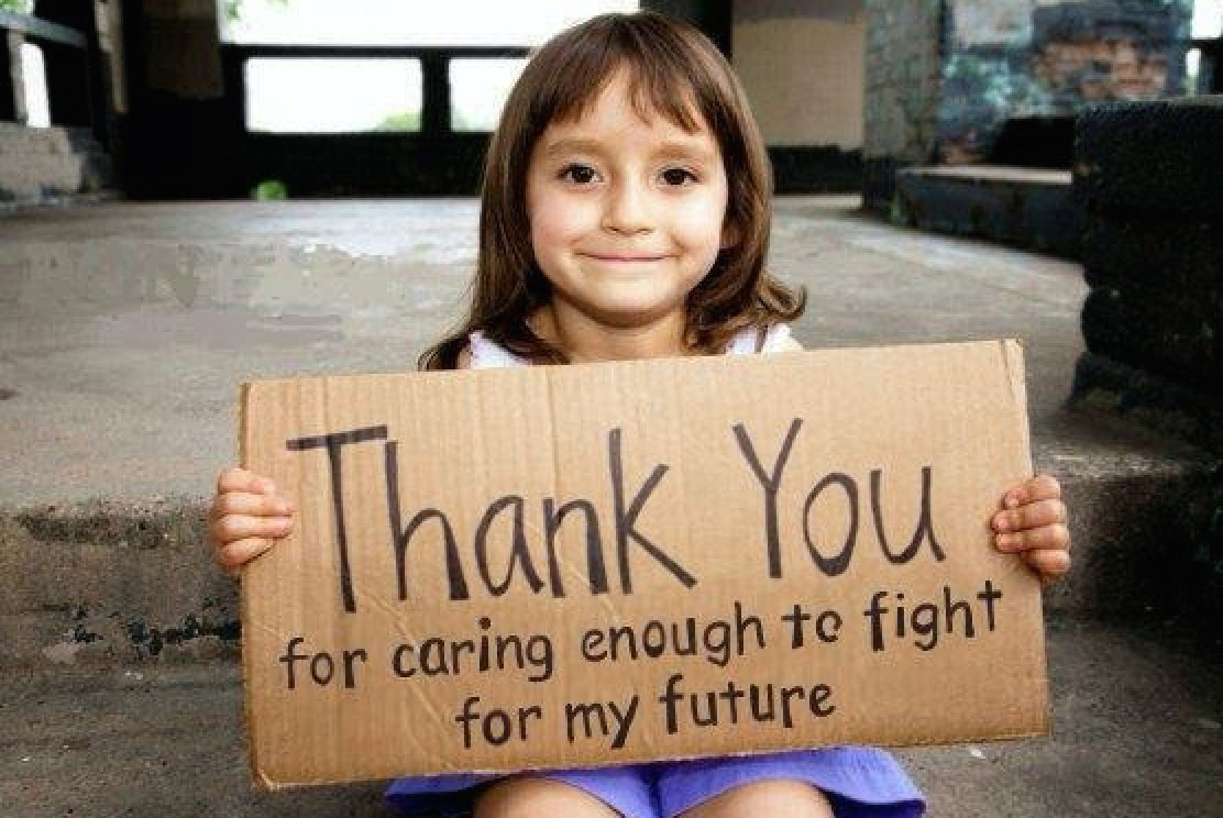 Thank you for caring enough