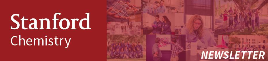 Stanford Chemistry Newsletter Banner Image
