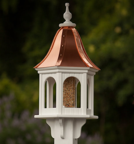 Copper Roof- Vinyl Bird Feeders