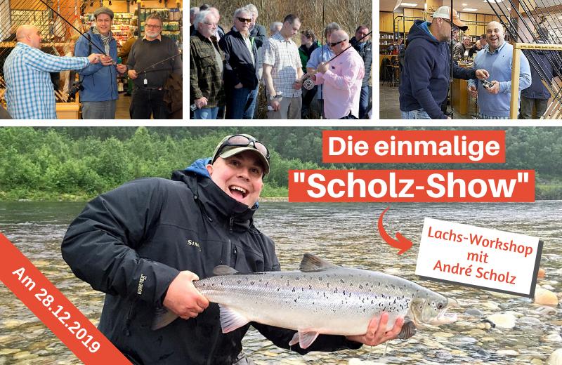 Die einmalige Scholz-Show