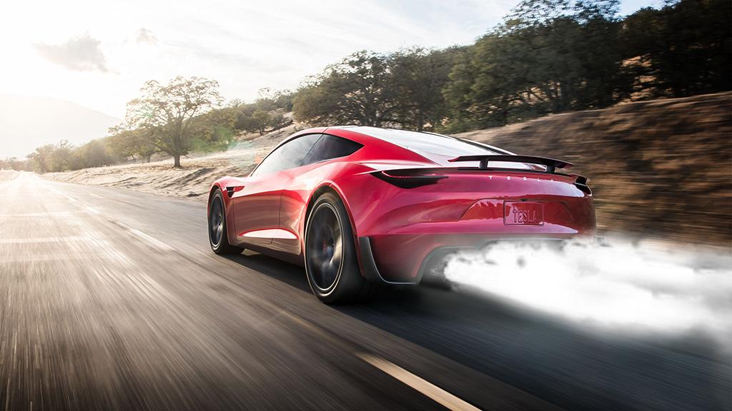 Tesla Roadster SpaceX Option Package