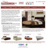 Elegant Platform Beds