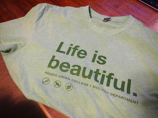 Biology t-shirt