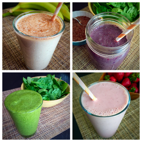 Simple Smoothies to Jump-Start Your Day!