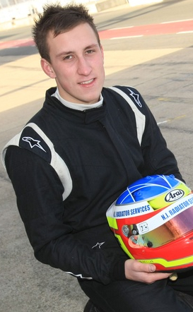 Motorsport Ireland Young Racing Driver of the Year 2015 Jonny McMullan