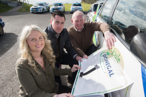 Donegal International Rally sponsorship deal with Joule