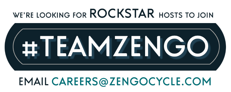 We're looking for rockstar hosts to join #teamzengo. Email careers@zengocycle.com